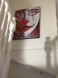 Painting prop for my Son's latest short film (James Nolan - Nolan Film) November 2014 - Mark Nolan
