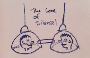 The cone of silence