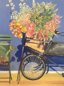 Bicycle flowers, By Mark Nolan 1994