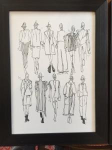 Fashion Illustration by Emily Nolan 2016